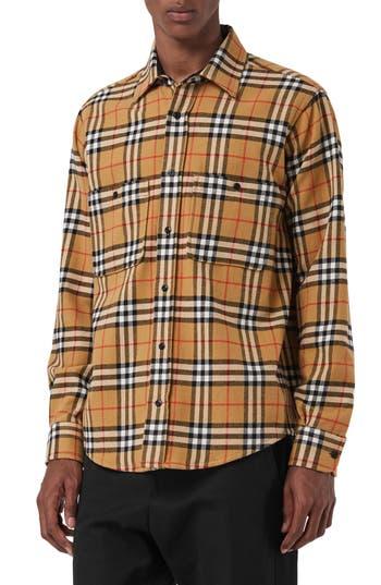Burberry Lyndhurst Check Flannel Shirt