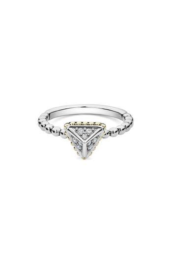 LAGOS DIAMOND PYRAMID RING