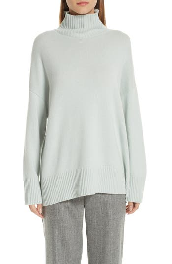Lafayette 148 New York Relaxed Cashmere Turtleneck Sweater