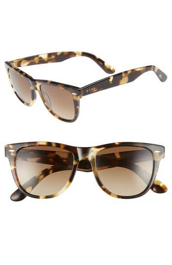 DIFF Kota 51mm Gradient Polarized Cat Eye Sunglasses