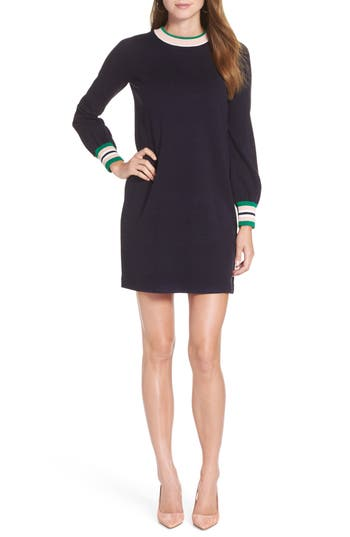 1901 Varsity Stripe Sweater Dress