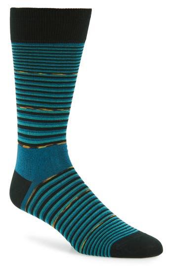 Bugatchi Stripe Socks