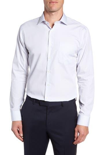 Nordstrom Men's Shop Trim Fit Non-Iron Print Dress Shirt