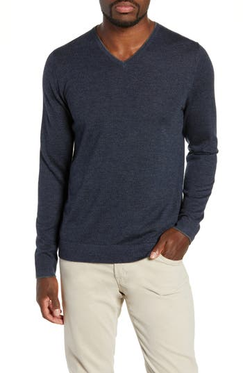 Nordstrom Signature Cashmere V-Neck Sweater