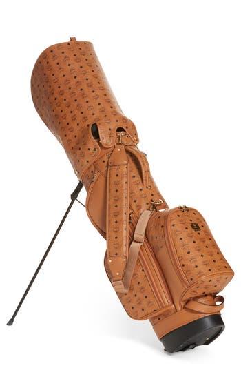 MCM Vintage Visetos Coated Canvas Golf Bag