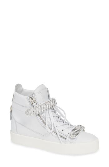 Giuseppe Zanotti May London Jewel Wedge Sneaker