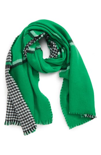 Trouvé Double Sided Check Blanket Scarf