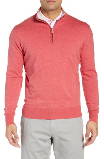 Peter Millar Crown Quarter Zip Sweater