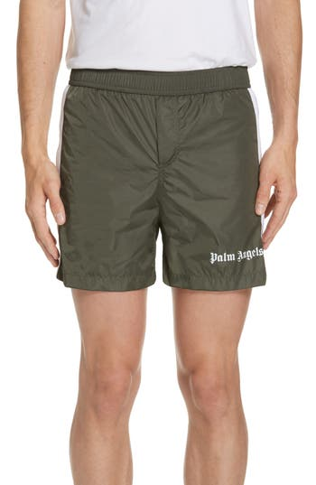 Palm Angels Track Swim Trunks