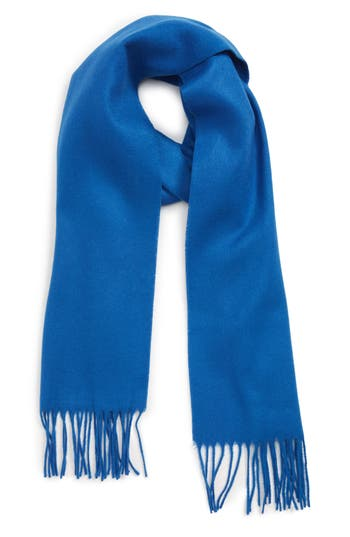 The Rail Solid Fringed Scarf
