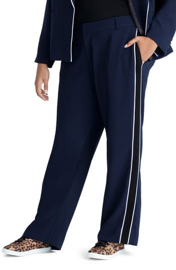 RACHEL Rachel Roy Halo Piped Pants