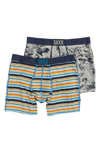 SAXX Vibe Fisherman 2-Pack Boxer Briefs