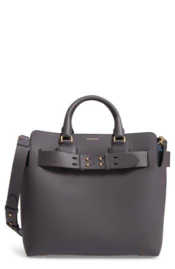 Burberry Medium Leather Belted Bag