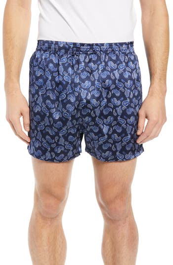 Majestic International Sapphire Silk Boxers