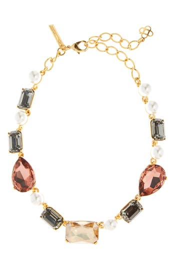 Oscar de la Renta Bold Crystal Necklace