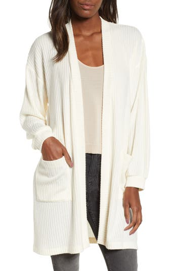 All in Favor Ribbed Cardigan