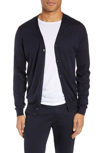 John Smedley Whitchurch Regular Fit Button Cardigan