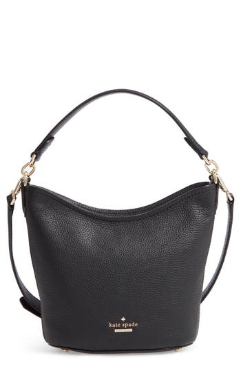 kate spade new york jackson street - small rubie leather crossbody bag