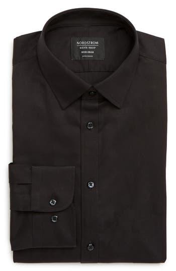 Nordstrom Men's Shop Extra Trim Fit Non-Iron Solid Dress Shirt