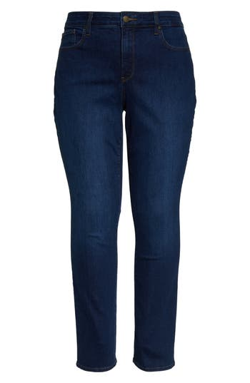 NYDJ Marilyn High Rise Straight Leg Jeans