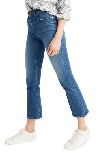 Madewell Eco Edition Cali Demi Boot Jeans