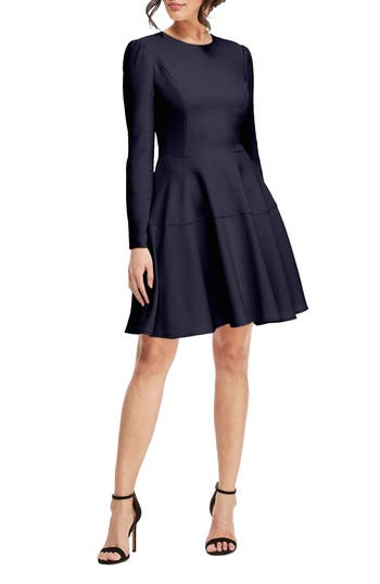Gal Meets Glam Collection Celeste Fit & Flare Dress