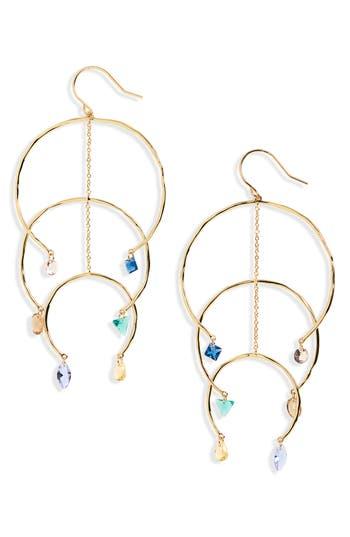gorjana Luca Shimmer Arc Mobile Earrings