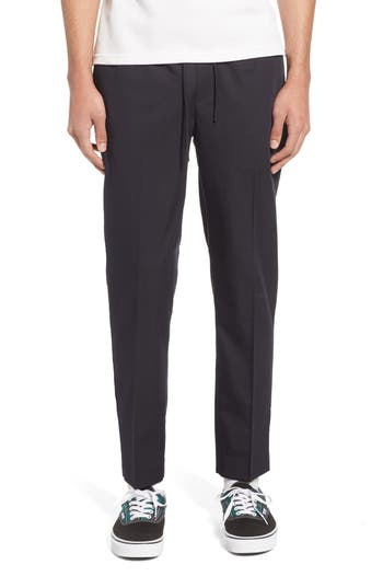 Topman Slim Fit Cropped Jogger Pants