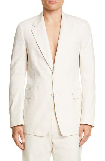 Dries Van Noten Burnes Cotton Sport Coat