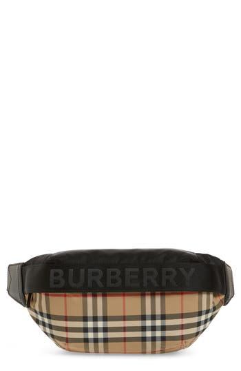 Burberrry Medium Sonny Vintage Check Belt Bag