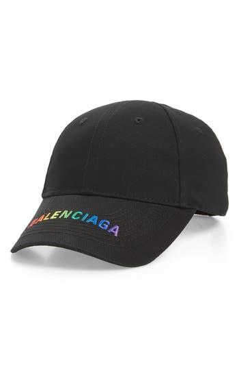 Balenciaga Rainbow Logo Baseball Cap