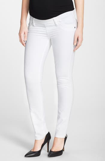 'Angel' Ankle Cigarette Maternity Jeans