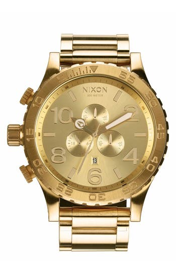 Nixon 'The 51-30 Chrono' Watch, 51mm