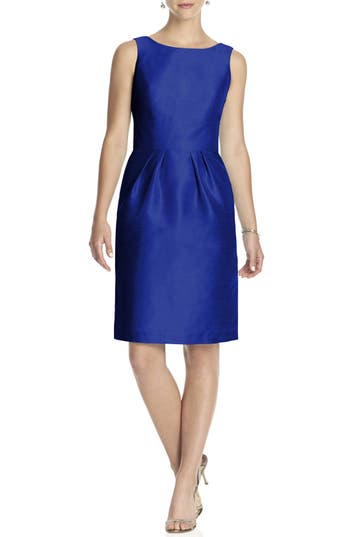 Women's Alfred Sung Boatneck Sheath Dress