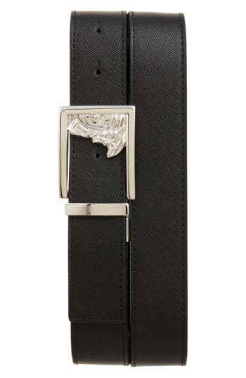 Versace Collection Leather Belt