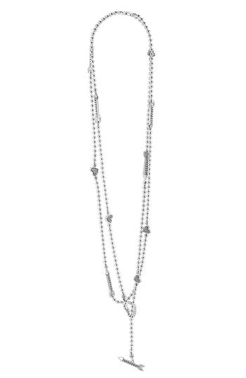 Women's Lagos 'Beloved' Heart & Arrow Toggle Necklace