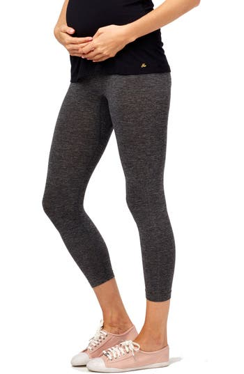 Rosie Pope Seamless Capri Maternity Leggings