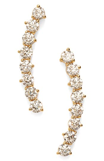 Women's Nadri 'Salome' Cubic Zirconia Ear Crawlers