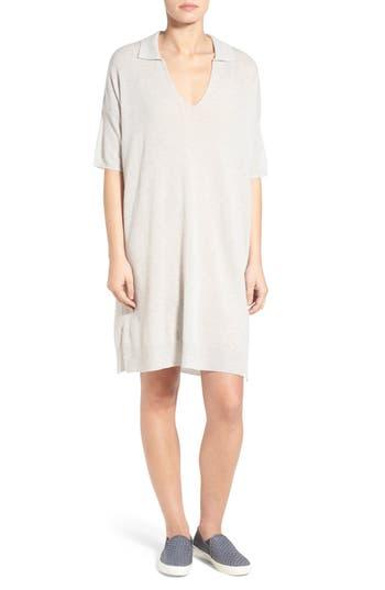 James Perse Oversize Cashmere Shift Dress