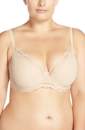 d59ada5fa ... UPC 829284669938 product image for Women s Natori  Pure Allure  Full  Figure Contour Underwire Bra