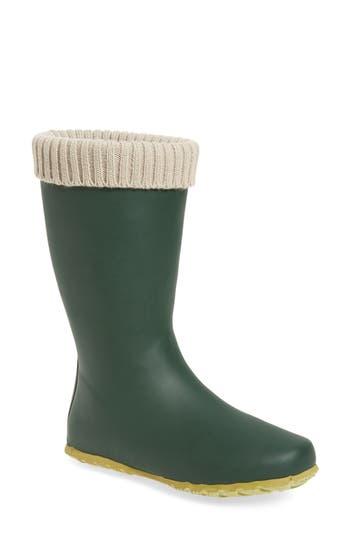 Dav Weatherproof Rain Boot, Green