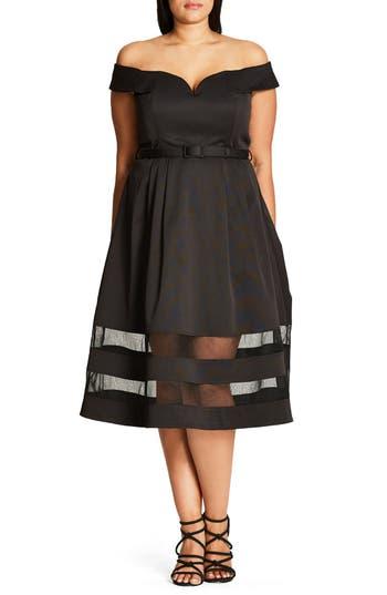 Plus Size City Chic Mystique Dress