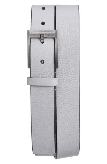 Ck Calvin Klein Contemporary Leather Belt