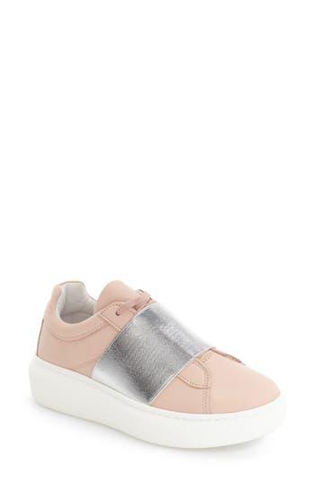 Topshop Turin Metallic Strap Platform Sneaker