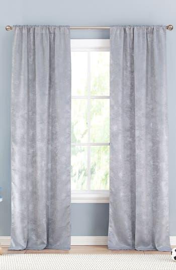 Lala + Bash Clarice Blackout Window Panels, Size One Size - Metallic