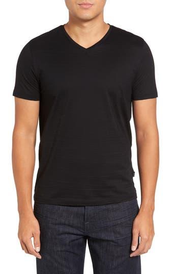 Boss Tilson 50 V-Neck T-Shirt, Black