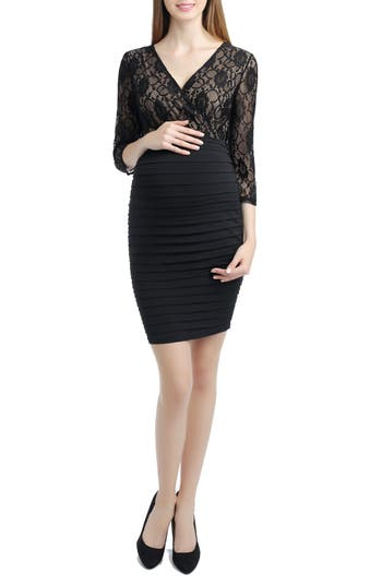 Kimi And Kai Greta Lace Maternity Dress