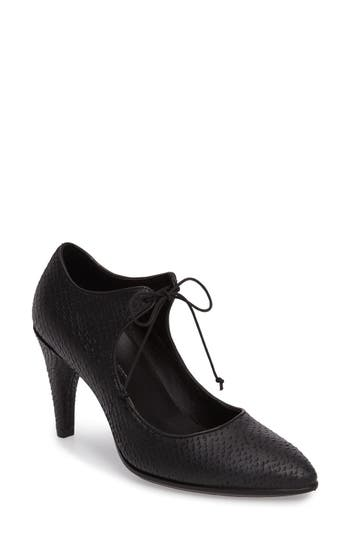 Women's Ecco Shape 75 Lace-Up Mary Jane Pump