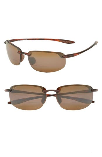 Men's Maui Jim 'Ho'Okipa - Polarizedplus2' Reader Sunglasses - Tortoise / Brown