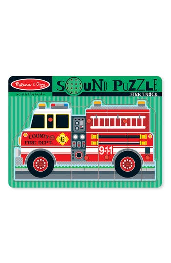 Toddler Melissa & Doug 'Sound' Puzzle